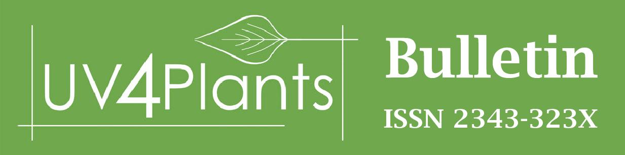 UV4Plants Bulletin logo